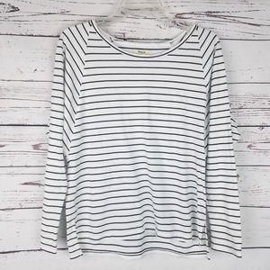 Madewell Striped Dolman LS Shirt